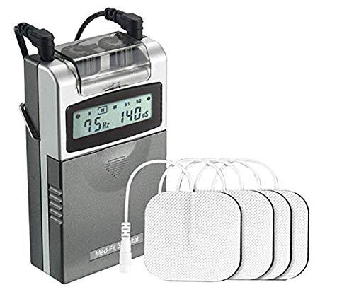 Med-Fit 3 Electrostimulador Máquina TENS digital 2 canales. Alivio rápido y eficaz del...