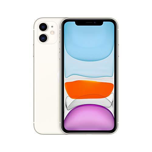 Apple iPhone 11 (64GB) - Blanco (incluye Earpods, adaptador de...