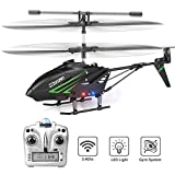 RC Helicopter with Remote Control, Gyro -RC -Helicopter for -Kids, 3.5HZ Alloy LED Light -Toy Helicopter with -Remote -Control for AGE 13 14 15 16+ Years Old Boys&Girls, Indoor Mini RC Helicopter