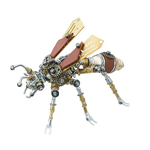 YDDY 3D Metal Puzzle Insect Series 3D Metal Termite Model Kits for Adult - 290Pcs Steampunk Model