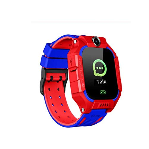 Children's Smart Tracker Watch with Camera SIM Card APP Tracker Anti-Lost Red