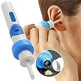 Kit de nettoyage électrique pour le cérumen, nettoyant pour cérumen avec cueilleur d'oreille pour bébés...