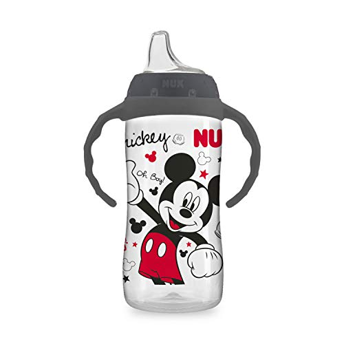 NUK Disney Large Learner Sippy Cup, Mickey Mouse, 10 Oz 1-Pack