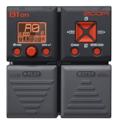 Zoom B1Xon Bass Effects Pedal with Expression Pedal
