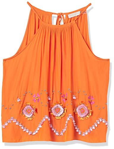 41TdZ7bJCoL. SL500 Pink embellishment Embellishment on body Sleeveless
