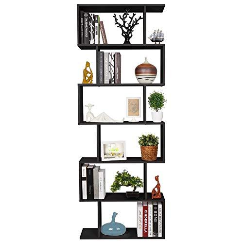Homfa Scaffale Libreria Mobile Soggiorno in Legno Mobile per Archiviazion Carico 30 kg 70 × 23.5 ×...