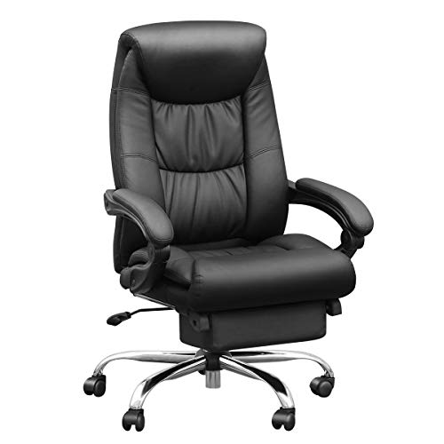 Duramont Reclining Leather Office Chair with...
