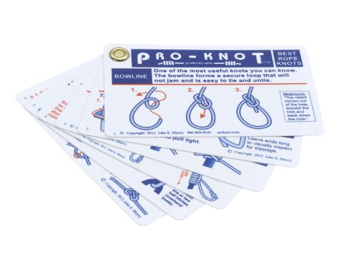 Pro-Knot 'Best Outdoor Knots' Taschenkarten...