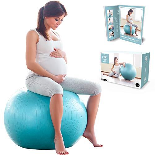BABYGO Pelota de Pilates Embarazadas, Fitball, Ejercicio, Balón de...