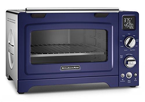 KitchenAid KCO275BU Convection 1800W Digital Countertop Oven, 12', Cobalt Blue