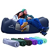 AlphaBeing Inflatable Lounger - Best Air Lounger Sofa for Camping, Hiking - Ideal Inflatable Couch for Pool and Festivals - Perfect Inflatable Beach Chair for Adults