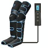 Masseur de jambes, compression d'air des jambes avec contrôleur portable 6...