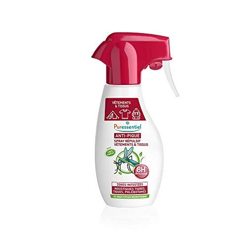 Puressentiel - Anti Pique - Spray Répulsif - Vêtements et tissus -...