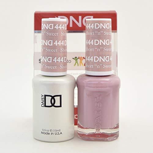DNDDuo Gel (Gel & Matching Polish) Fall Set 444 - Short 'N' Sweet
