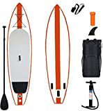 YX Inflatable 11'×33'×6' SUP for All Skill Levels Everything Included with Stand Up Paddle Board More Capability and Durable