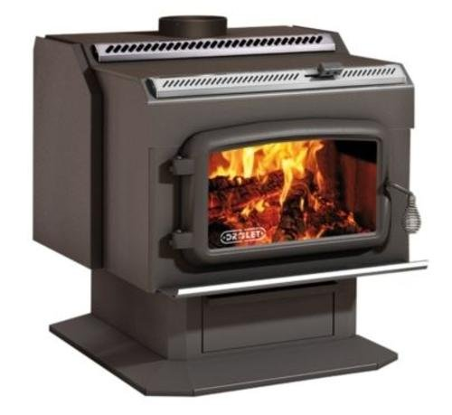 Drolet High-Efficiency Wood Stove - 95,000 BTU, Model#...