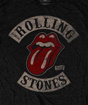 The-Rolling-Stones-Top-Maniche-corte-Uomo
