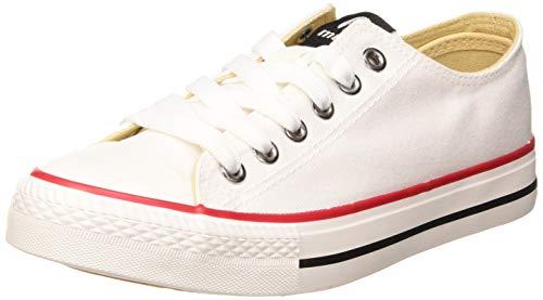 MTNG Attitude 13991, Zapatillas Mujer, Blanco, 39 EU
