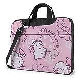 Bolsa para computadora portátil de 15,6 Pulgadas con maletín para computadora portátil Candy Maletín para Hombro Bolsa de Mensajero Funda para Caja