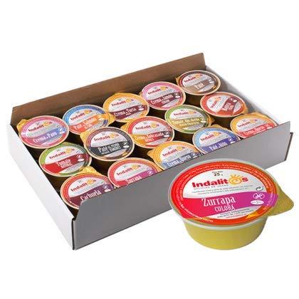 Indalitos - Manteca Colorá - Bandeja 30 Monodosis 25 g