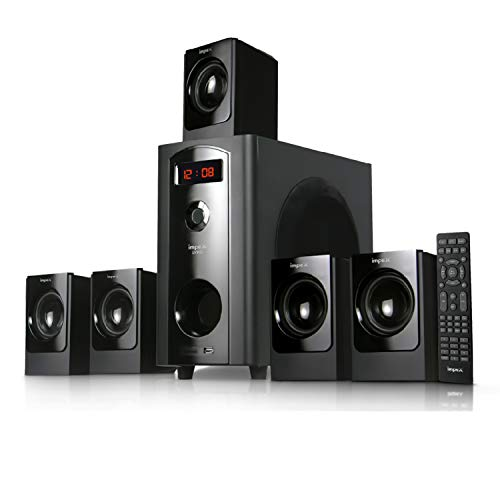 Impex 5.1 Lyric 70 W Multimedia Bluetooth Speaker System (Black)