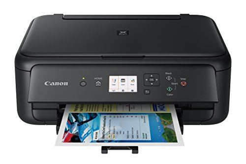 Canon TS5120 Wireless Printer with Scanner and Copier: Mobile and Tablet Printing, with Airprint(TM) and Google Cloud Print compatible, Black