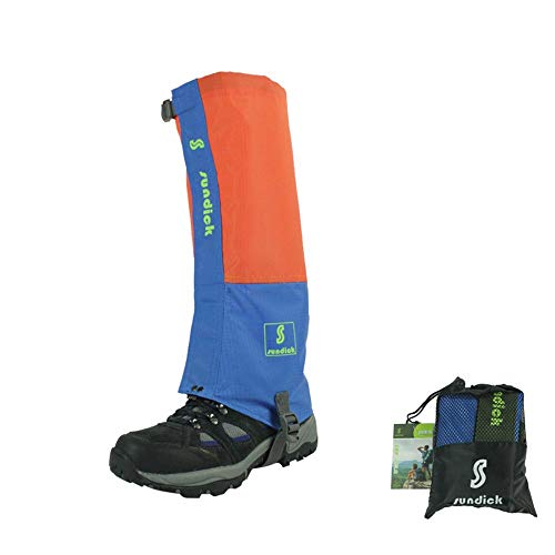 Waterproof, Breathable Leg Gaiters