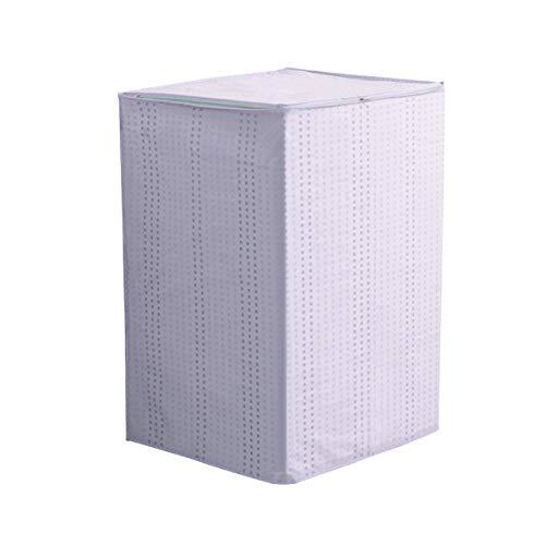 Yardwe Coprilavatrice Verticale Impermeabile con Cerniera Anti-Spruzzi e Anti Sunlight (Grigio)