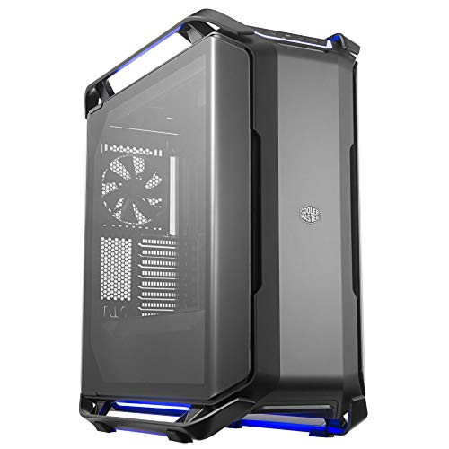 Cooler Master Cosmos C700P Black Edition E-ATX Full-Tower with Curved...