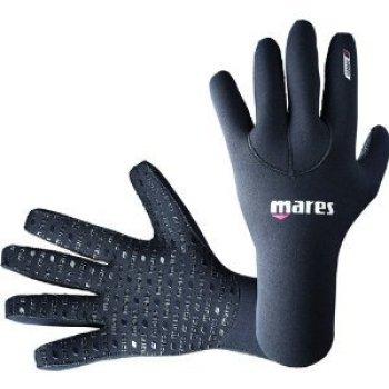 Mares Classic Flexa 3mm Five Finger Gloves (2X-Small, Black)