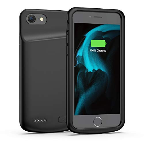 Battery Case for iPhone 6/6s, 4500mAh Portable Protective Charging Case Extended Rechargeable Battery Pack for 4.7 Inch iPhone 6/6s (Black)