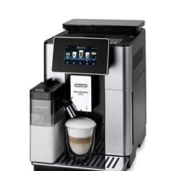 & Bean Adapt Technologie, Cappuccino und Espresso auf Knopfdruck, 4,3 Zoll TFT Farbdisplay und App-Steuerung, silber