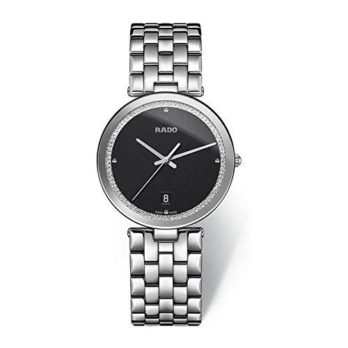 Rado Florence Damen-Armbanduhr Armband Edelstahl + Gehäuse Batterie R48870153
