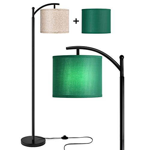Rottogoon Floor Lamp for Living Room, LED Standing Lamp with 2 Lamp...