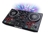 Numark Party Mix II - DJ Controller / DJ Set for Beginners with Built-In DJ Lights & DJ Mixer for Serato DJ Lite and Algoriddim djay Pro AI