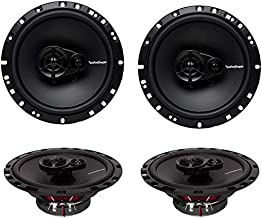 "4 New Rockford Fosgate R165X3 6.5"" 180W 3 Way Car Audio Coaxial Speakers Stereo"