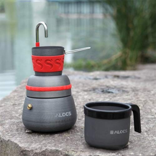 Hamm YHM Outdoor Camping Tool Kaffeekocher mit 2 Kaffeetassen