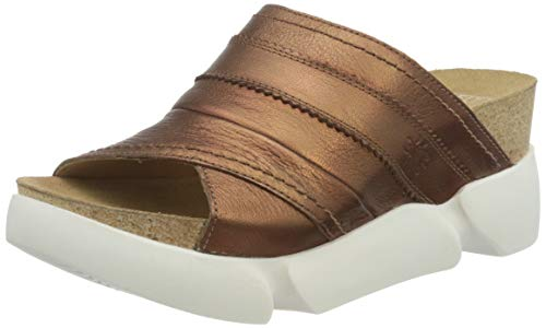 FLY London Suze582fly, Mules Mujer, Marrón (Copper 010), 42 EU