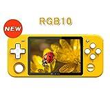 Whatsko RGB10 Linux OpenDingux ポータブルゲーム機 3.5インチ IPS画面 2800mAh 32GBTFカードが付き USB Type-C 多機能