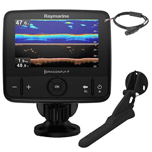 Raymarine E70320Dragonfly 7Pro, display con Sonar/GPS da 7pollici, con Down Vision integrato, CPT-DVS senza scheda