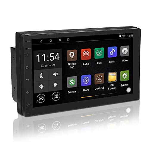 Stereo per Auto Universale Android 2 Din, Touch Screen da 7 pollici Bluetooth WiFi Lettore Multimediale Supporto Lettore MP5 GPS / Immagine di Retromarcia / Controllo del Volante / Radio FM