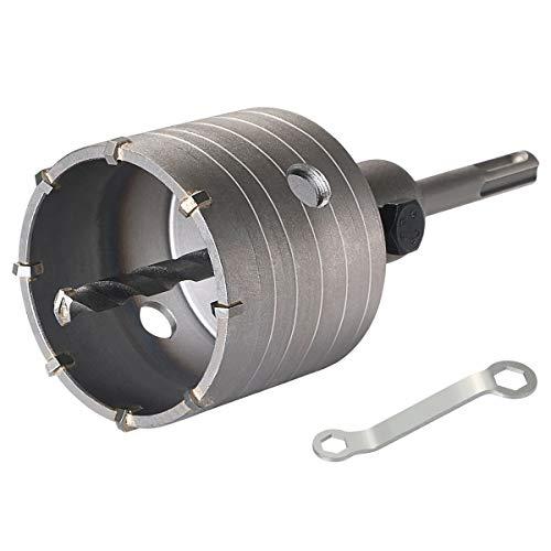 flintronic Hohl-Bohrkrone Ø 68mm mit SDS plus Adapter 110mm Zentrierbohrer 8x110mm Lochsägen Bohrer für Steckdosen Hammerschlagfest Dosenbohrer