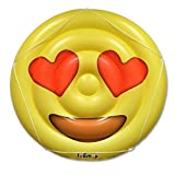 Emoji Pool Floats for Adults and Children – Giant Pool Floatie – Heart Eyes Pool Float Emoji – Pool Toy