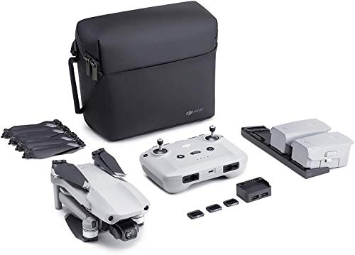 DJI Mavic Air 2 Fly More Combo y Care Bundle - Drone, Cámara 48 MP 4K, Estabilizador de 3 Ejes, 34 min de Vuelo, DJI Care Servicio de Sustitución Activado Automáticamente Exclusivamente para Amazon