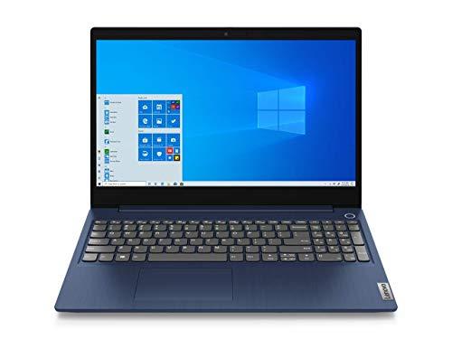 """Lenovo IdeaPad 3 Notebook - Display 15.6"""" Full HD TN (Processore Intel Core i5-1035G1, 512 GB SSD, RAM 8 GB, Fingerprint, Windows 10) - Abyss Blue"""