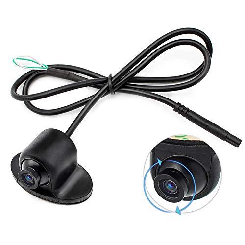 Neborn Mini CCD HD visione notturna a 360 gradi auto vista posteriore fotocamera anteriore laterale telecamera di supporto fotocamera 12 V