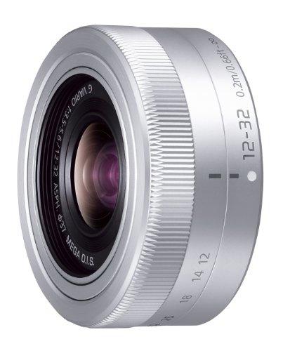 Panasonic Micro Four Thirds interchangeable lens LUMIX G VARIO 12-32mm / F3.5-5.6 ASPH. / MEGA OIS H-FS12032 Silver - International Version (No Warranty)
