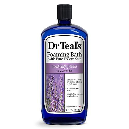 Dr Teal's Foaming Bath with Pure Epsom Salt,...