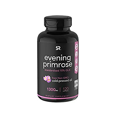 1300mg of Cold-Pressed Evening Primrose Oil with 10% GLA per liquid softgel. May help to Maintain Healthy Skin & A Balanced Immune Response.* Non-GMO Verified and formulated Without Hexane, Gluten, Soy, Artificial Colorings, Stearates Or Titanium Dio...