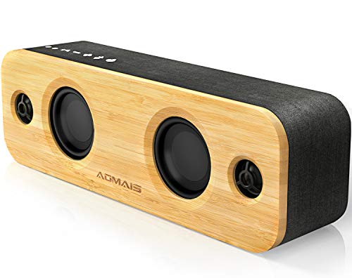 AOMAIS Life Bluetooth Speakers, 30W Loud Home Party Wireless Speaker, 2 Woofer & 2 Tweeters for...
